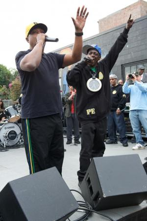 Public Enemy Rocks Skid Row
