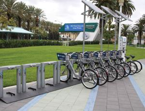 Bike Share Program to Roll in Downtown