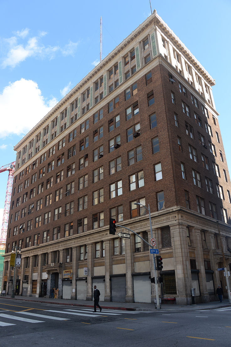London boutique hotel firm buys downtown building news for Boutique hotels downtown los angeles