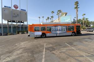 Dodger Shuttle Bus Returns