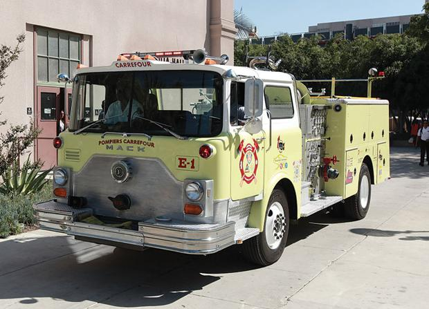 Refurbished Fire Truck Goes to Haiti