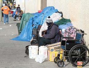 City and Business Owners in a Skid Row Storage War