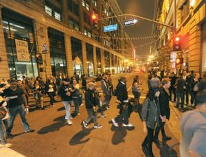 At Art Walk, Big Money, Big Crowds and Big Changes