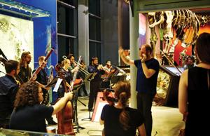 First Fridays Brings Music and Drinking to the History Museum