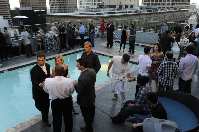 Rooftop Opening at Roosevelt Apartments