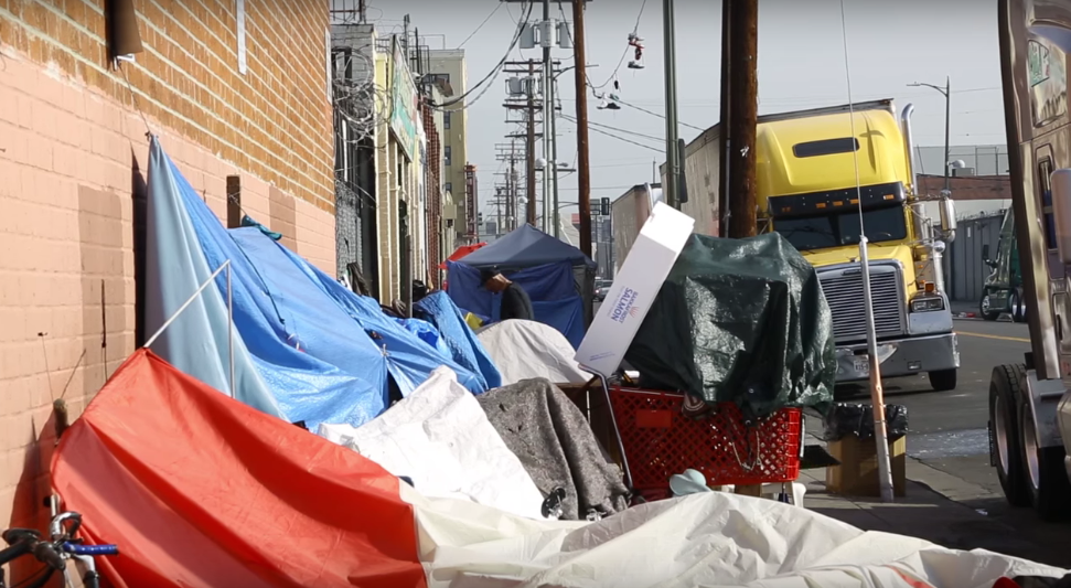 Nine in 10 homeless skid row women have experienced for Los angeles homeless shelter