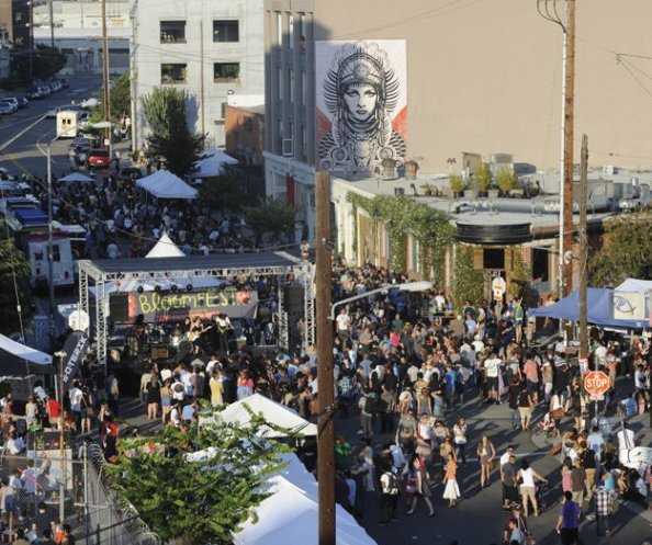 Art District's Bloomfest to Return in the Fall