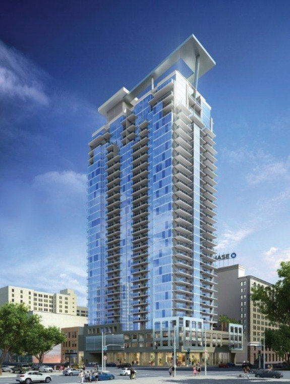 The next downtown apartment boom news for Highrise apartments in los angeles