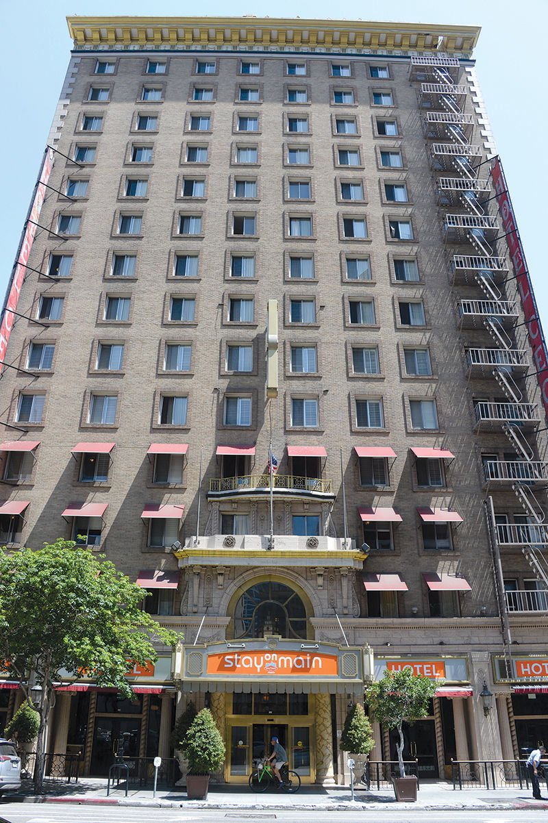 Downtown La S Creepy Hotel Cecil Is Now A City Landmark Curbed