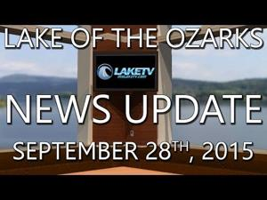 Lake of the Ozarks News Update - September 28th, 2015
