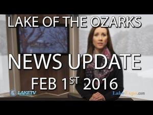 Lake of the Ozarks News Update - 2/1/16 [VIDEO]