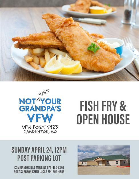 Vfw fish fry community news for Vfw fish fry