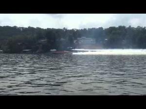 Shootout - Bob Bull's catamaran vs Airplane, pt 2 (Bull wins!)