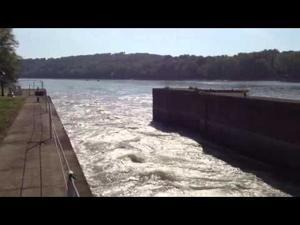 Osage River Lock & Dam Near Mariosa Delta