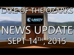 Lake of the Ozarks News Update - Sept 14th 2015