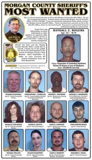Morgan County Most Wanted