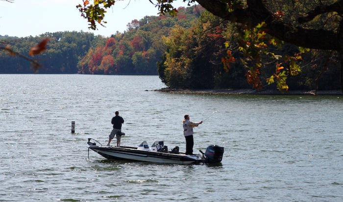 Reel dill fall fishing tips in creeks and on the lake for Lake of the ozarks fishing
