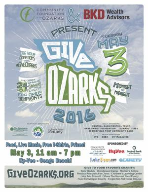 Give Ozarks Event May 3 at Hy-Vee - Osage Beach