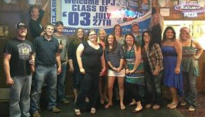 EPJ Class of 2003 holds reunion