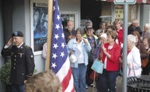 A wonderful tribute to veterans at the Pix