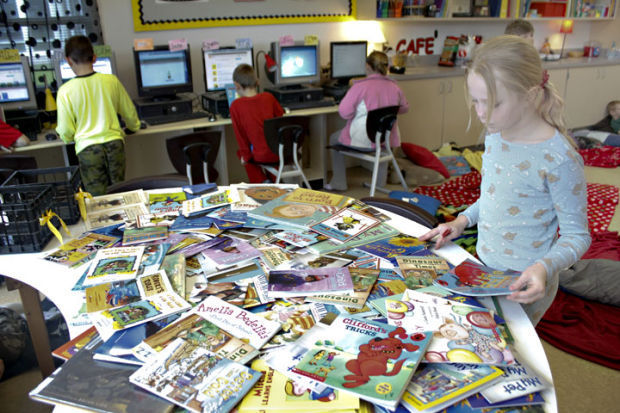 Pioneer students participate in nationwide reading event