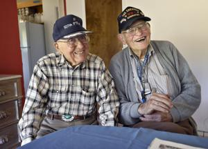 Corvallis, Lebanon World War II veterans recall serving together during the war