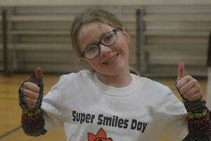 "Club hosts ""Super Smiles Day"""