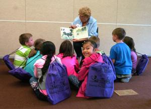 Students receive Gift of Literacy