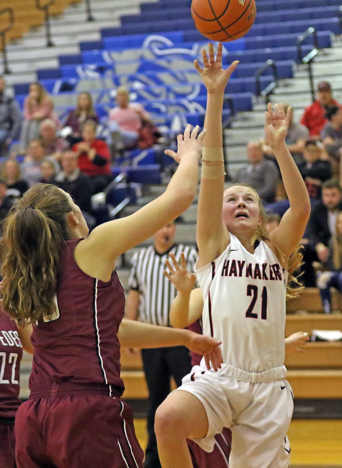 Lady makers win sub districts first round cozad for Wright motors north platte