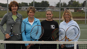 Smashers tennis team