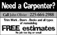 John Olivier Carpentry