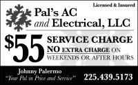 Pal's AC and Electrical, LLC