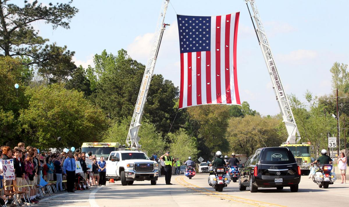 Anderson Funeral Procession