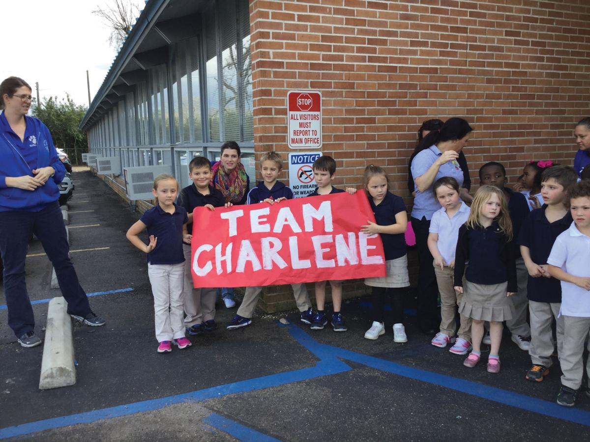 Springfield Elementary welcomes home Charlene Redmond