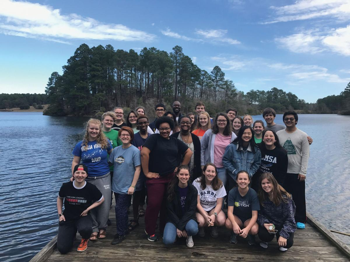 LSMSA students participate in leadership retreat