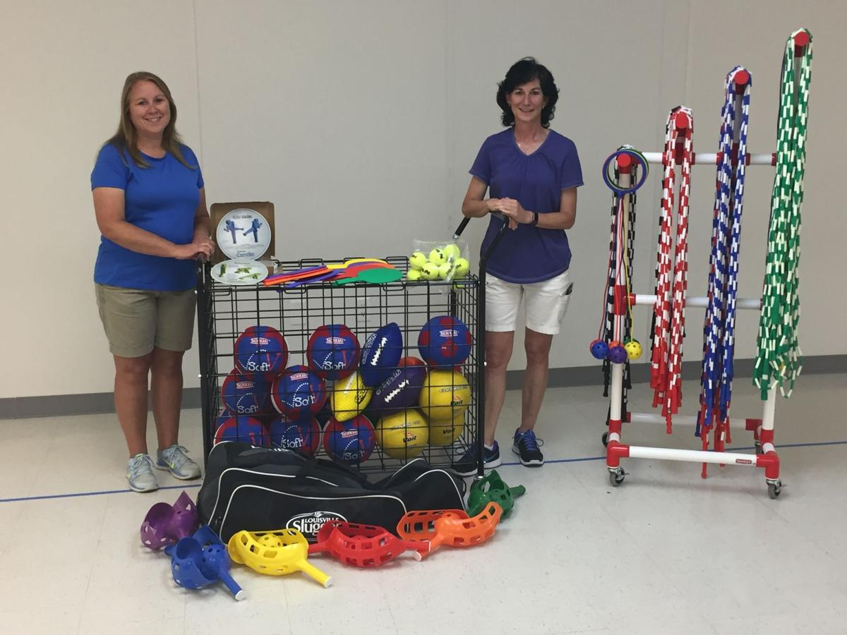 """Southside Elementary gets unexpected gift from Virginia school as part of """"Adopt a Gym"""" program"""