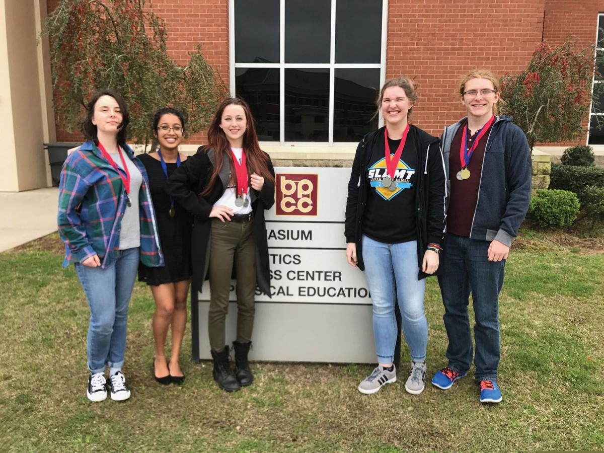 Five students compete, place in regional Science Olympiad