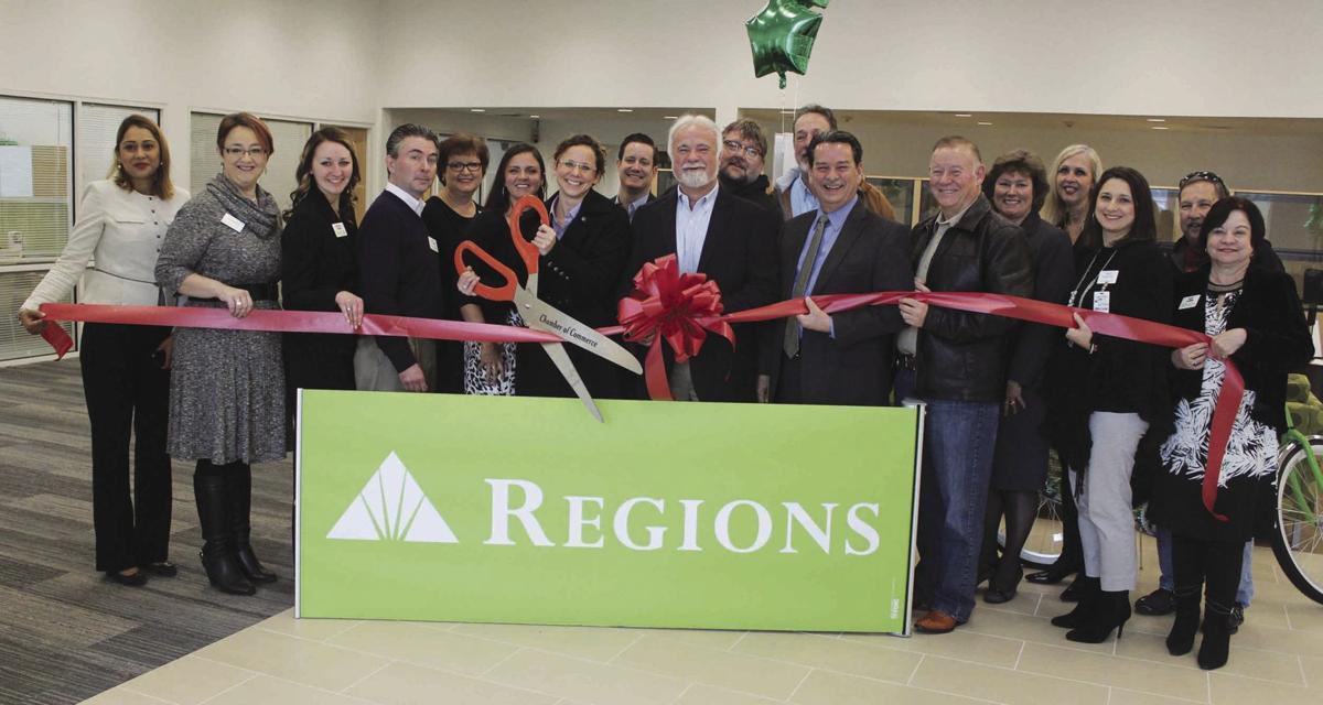 Regions Bank ribbon