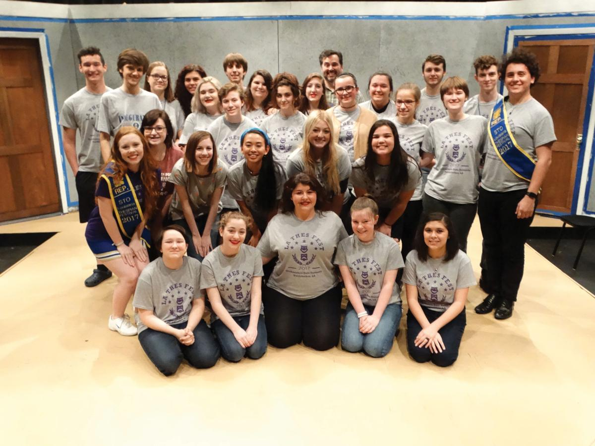 LSMSA students compete at Louisiana Thespian Festival