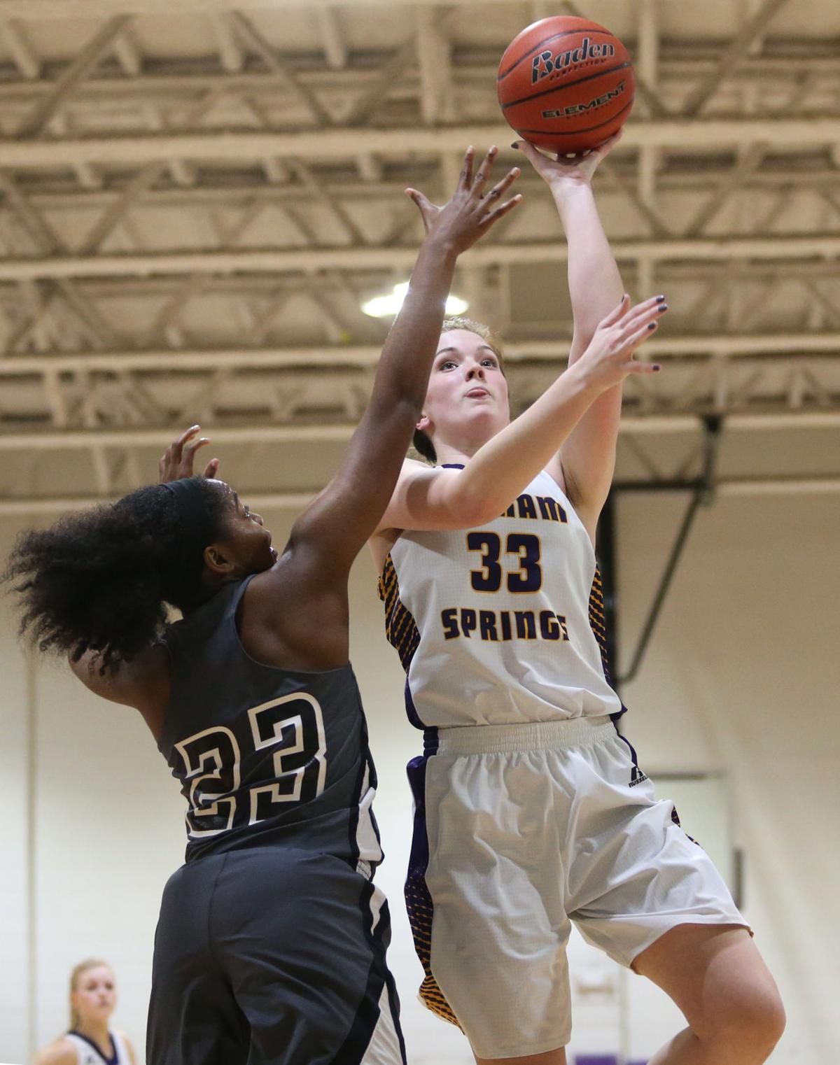 Denham vs Central Girls Basketball