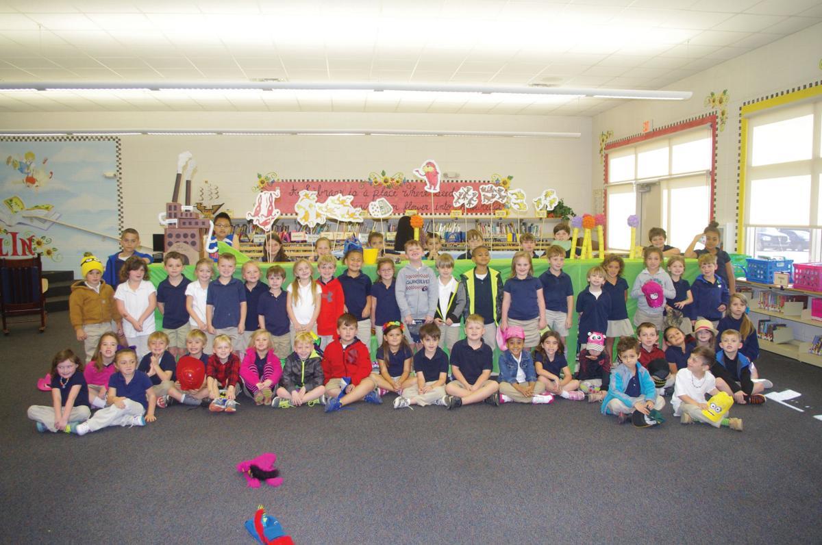 North Live Oak 4th graders partner with kindergarteners