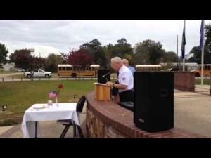 Albany Veterans Memorial Ceremony