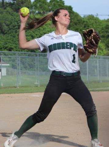 Maurepas-Starks softball McKenna Lessard