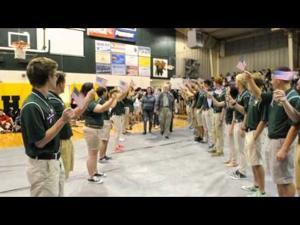 Walker High School Veterans Day program