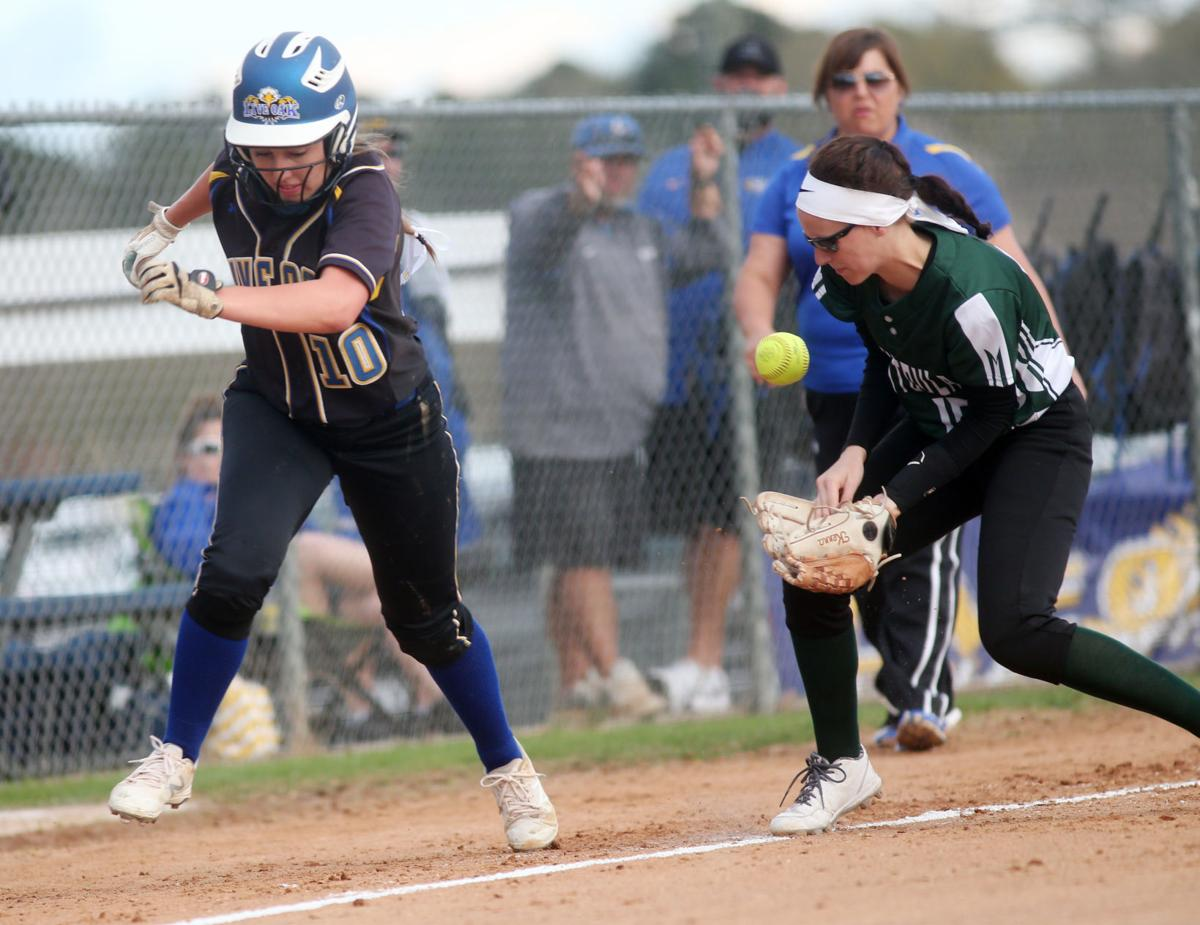 Live Oak vs Ponchatoula Softball