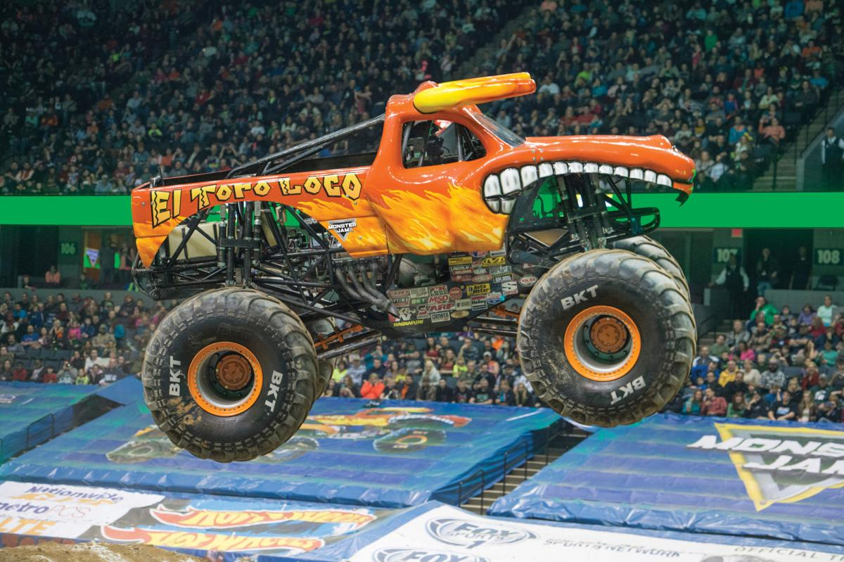 Monster Jam coming to Baton Rouge
