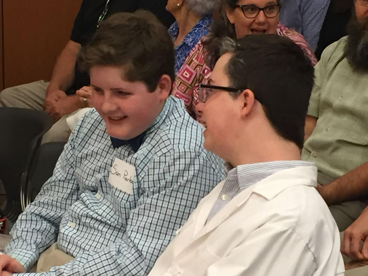 Challenge B team out of Denham Springs takes on New Orleans team in end-of-year mock trials