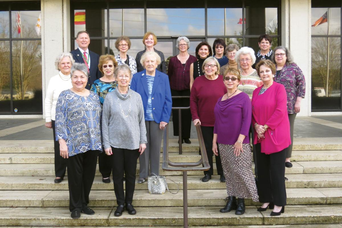 Suburban Reviewers Book Club tours Louisiana State Archives