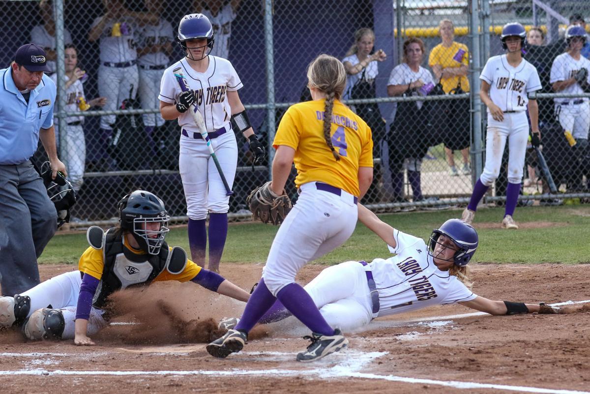 Doyle-Fisher softball Madison Watts