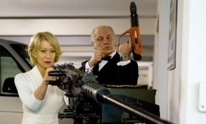 Helen Mirren sexy? She is when shes toting an automatic weapon